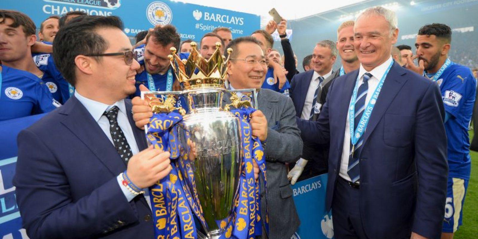 Los mejores festejos de Claudio Ranieri Foto:Getty Images