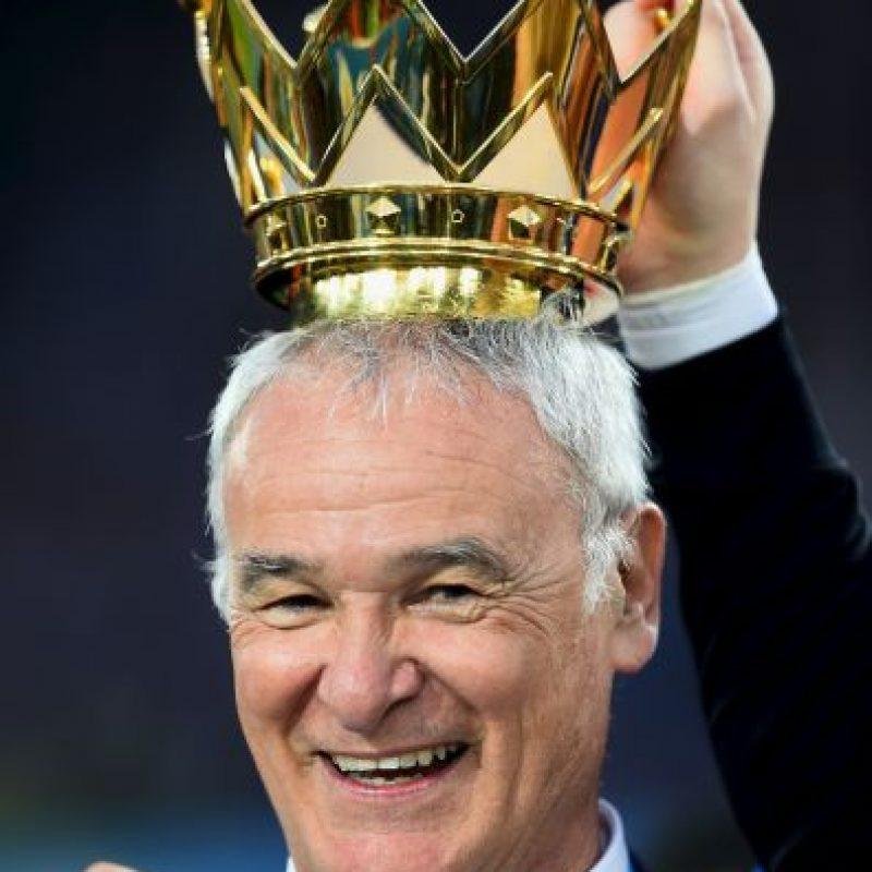 Ranieri nunca había levantado un título de Liga Foto:Getty Images