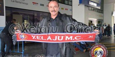 Rafael Loredo, nuevo técnico de Xelajú MC, llegó a Guatemala
