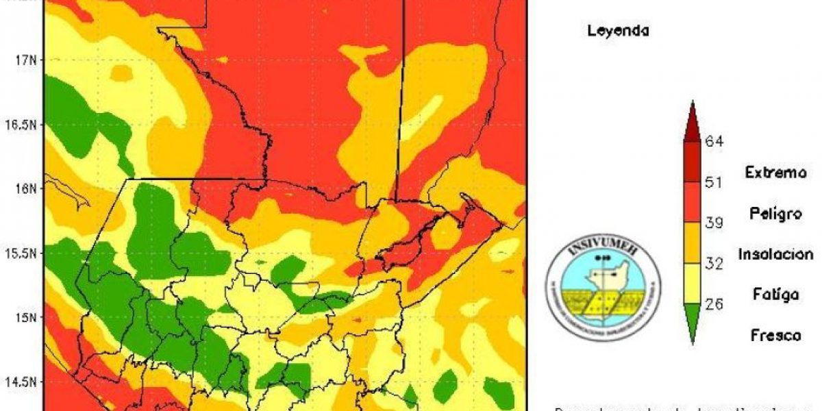 Así estarán las temperaturas este lunes 16 de mayo