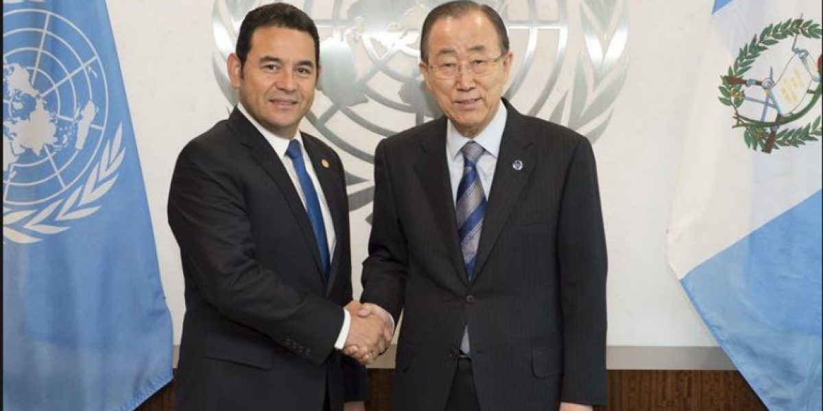 La ONU invita a Guatemala a ser