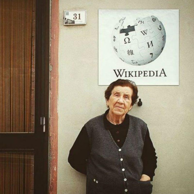 Los ancianos tienen tantos conocimientos, que parecen enciclopedias caminantes. Foto:instagram.com/biancoshock/