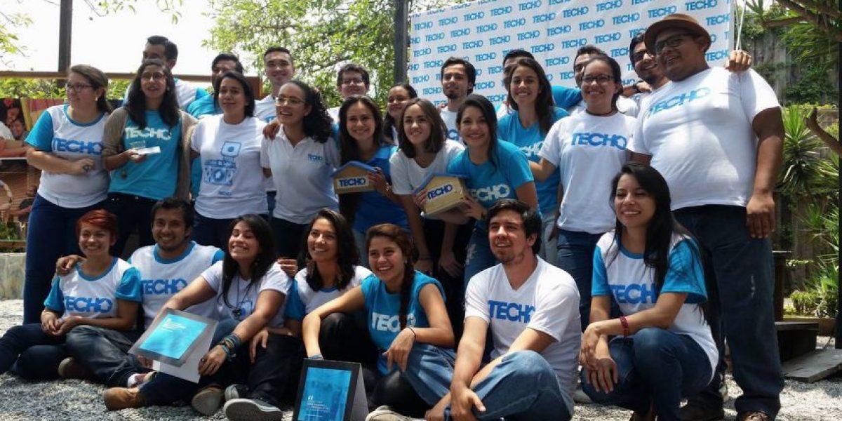 TECHO Guatemala espera recaudar Q2 millones con #ColectaTECHO