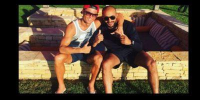 Cristiano Ronaldo es un gran amigo de Badr Hari Foto:Vía instagram.com/badrhari