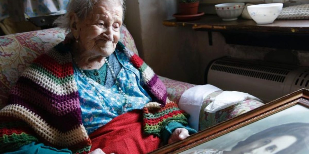 ¡Increíble! La mujer más longeva del mundo revela sus secretos para una larga vida