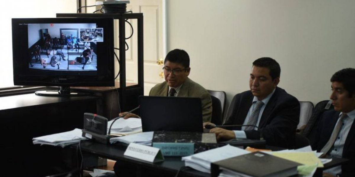 #RescateDelSur Fiscalía imputa hechos a 9 reos y se apoya en una videoconferencia