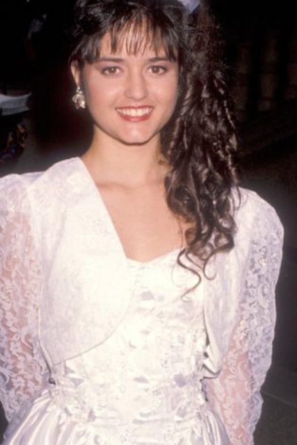 "Danika McKellar era la novia de ""Kevin"" en ""The Wonder Years"". Foto: vía Getty Images"
