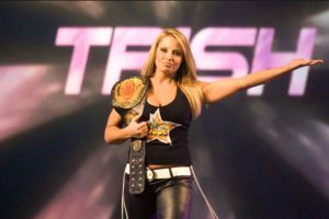 Así lucía Trish en su etapa en la WWE Foto:Vía instagram.com/trishstratuscom