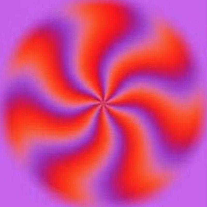 La ilusión óptica sobreestimula el sentido de la vista. Foto:vía Twitter