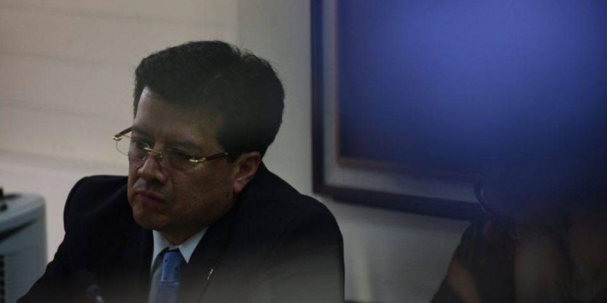 Proceso en contra de magistrado Douglas Charchal lo conocerá el juez Miguel Gálvez