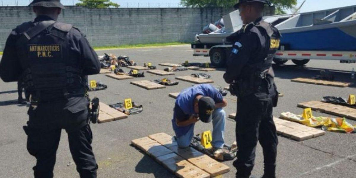 En Guatemala tres grupos dominan el narcotráfico, según ministro de Gobernación