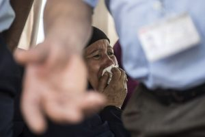 Abordo había belgas, británicos, franceses, egipcios, un árabe y un canadiense Foto:AFP