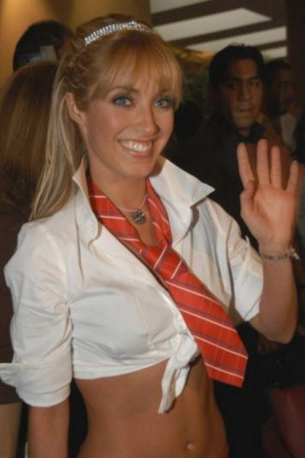 "Interpretó a ""Mía Colucci"" en 2004 Foto:Getty Images"