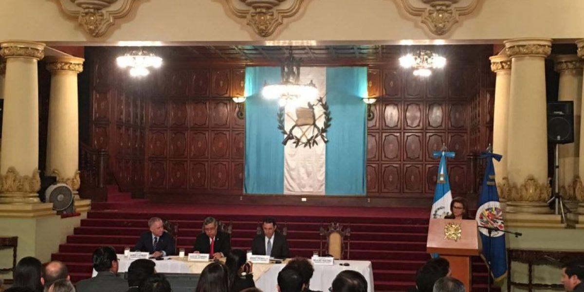 OEA apoya a Guatemala para construir un Gobierno Abierto
