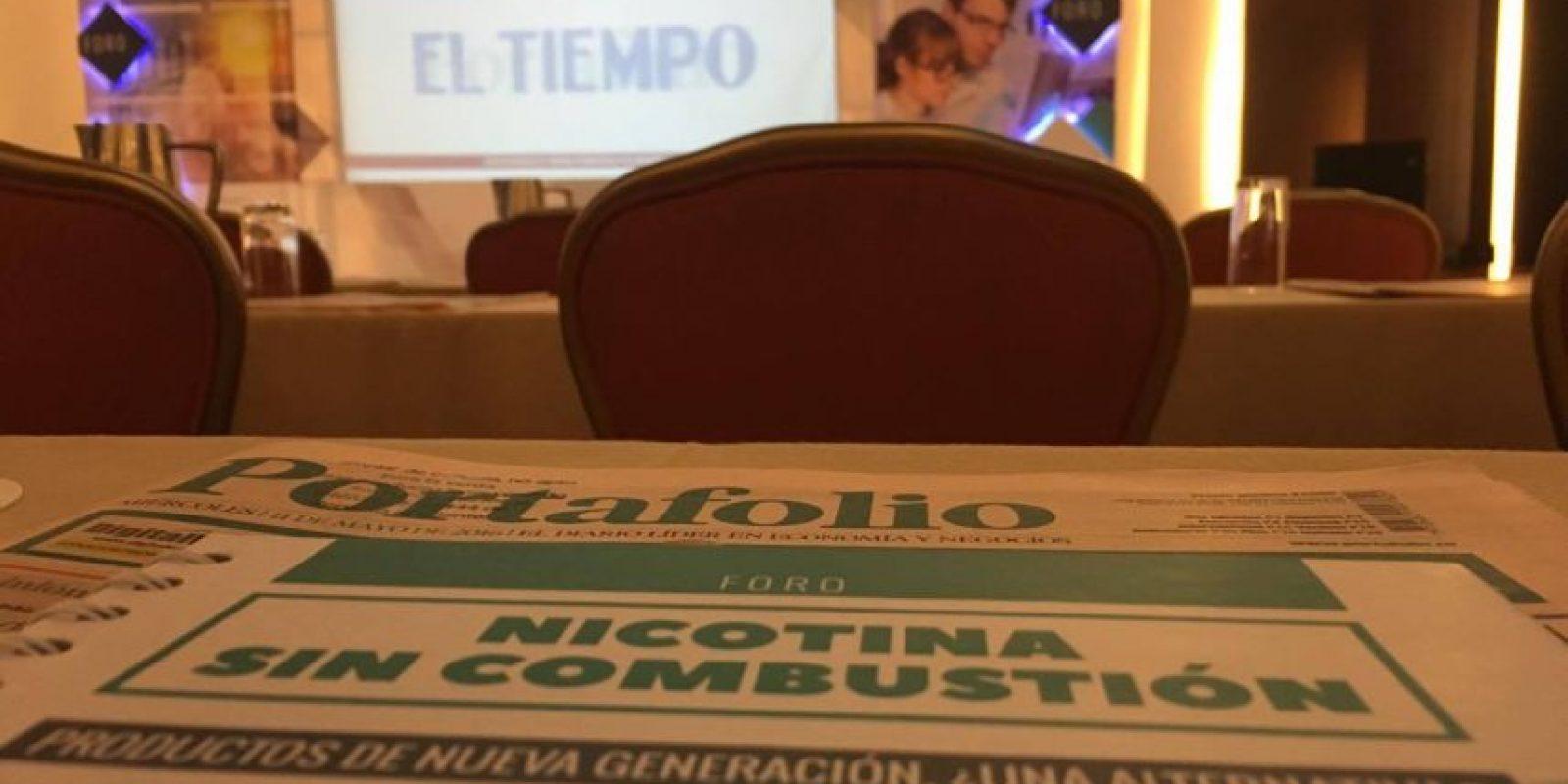 """El foro """"Nicotina sin combustión: productos de nueva generación, ¿una alternativa?"""" se realizó en el Hotel Marriot Salitre, en Bogotá, Colombia. Foto:Publinews"""