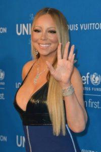 A continuación les dejamos algunas fotos de Mariah Carey y cómo cambió su figura. Foto:Getty Images