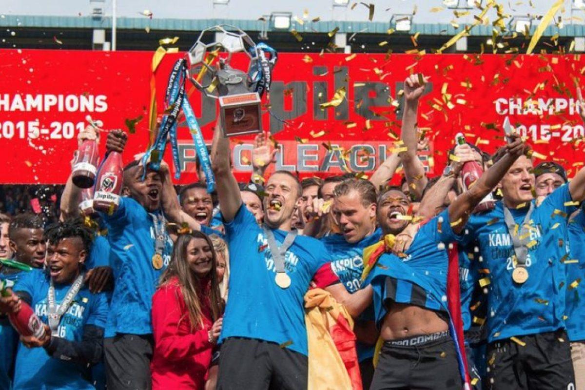 Brujas se coronó campeón de Bélgica Foto:Twitter