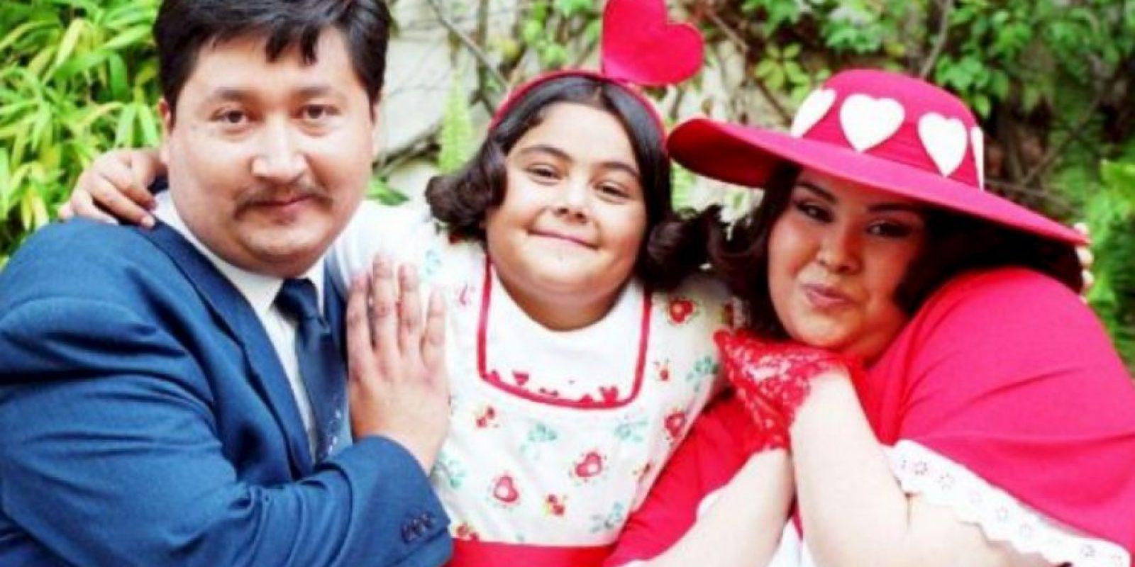El papel fue interpretado por Ana Paulina Cáceres. Foto:vía Televisa