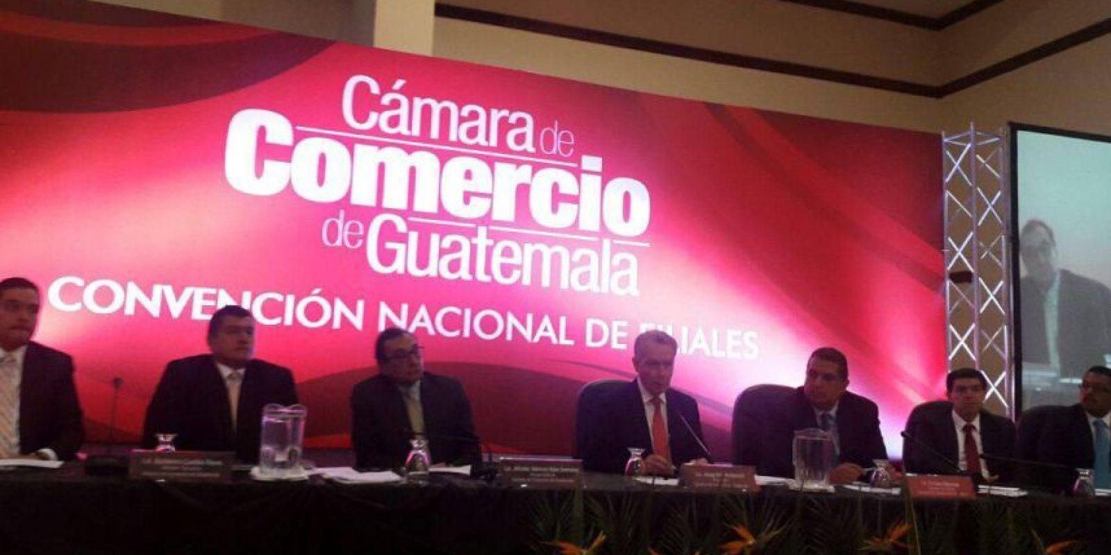 Foto:Cámara de Comercio de Guatemala