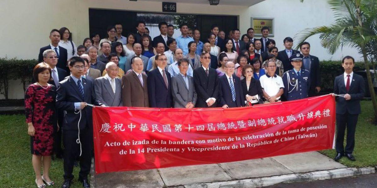 Taiwaneses en Guatemala celebran toma de posesión de primera mujer presidente