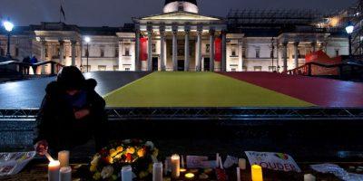 El luto por las víctimas de París y Bruselas Foto:Getty Images