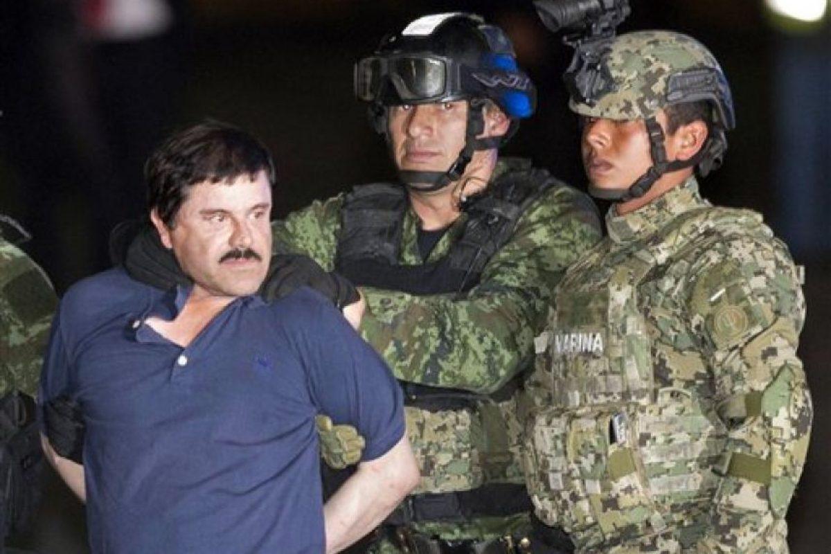 Durante su vida como criminal, el líder del cártel de Sinaloa fue capturado tres ocasiones. Foto:AP