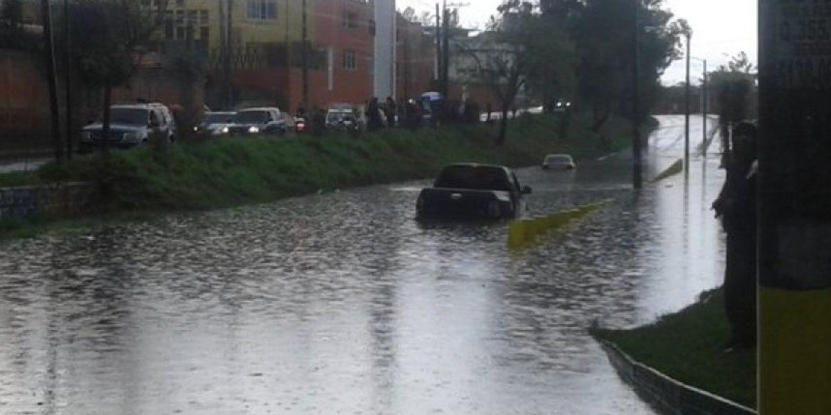 Estos fueron los daños que causó la fuerte lluvia que cayó en la capital