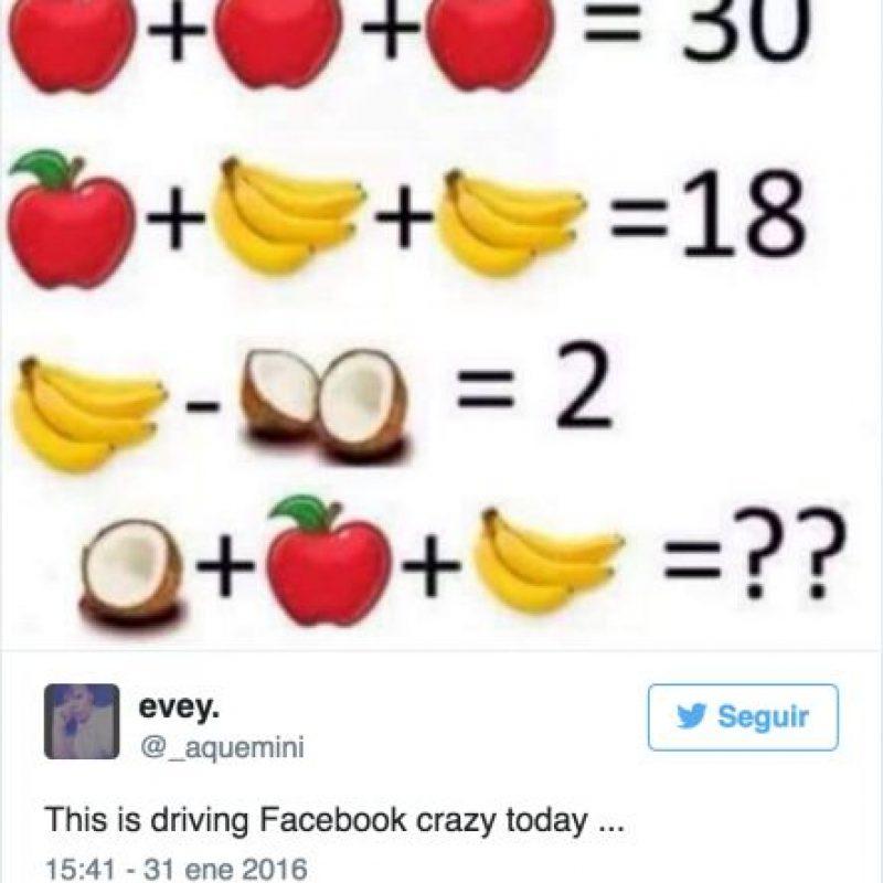 Por su parte, este reto alcanzó 497 mil likes, 2.7 millones de comentarios y fue compartido 180 mil veces. Foto:Twitter