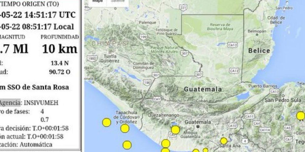 Fuerte sismo sacude Guatemala este domingo
