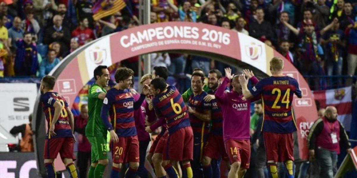 Resultado del partido Barcelona vs. Sevilla, Final de Copa del Rey 2016