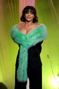 Rihanna, sorprendió con su voz y actuación. Foto:Getty Images