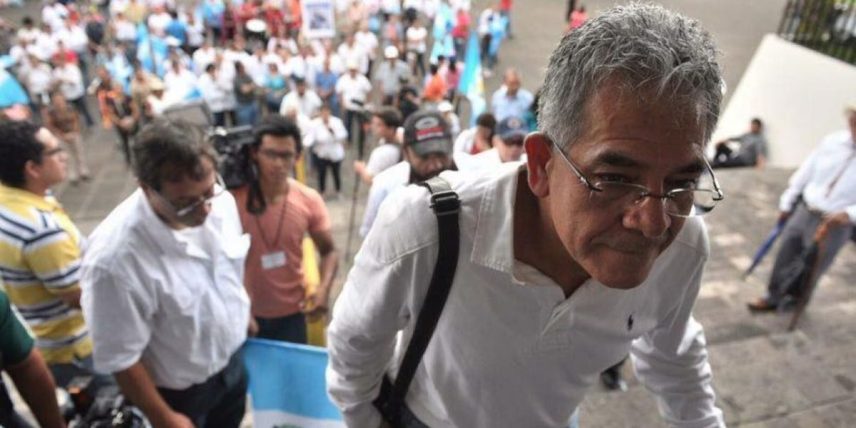 Juez Gálvez dice que por el momento han dejado de amenazarlo