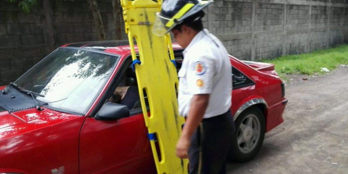Localizan a hombre fallecido en interior de vehículo en Fraijanes