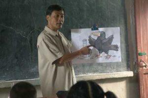 Maestro y alumnos deben respetarse mutuamente. Foto:Wikicommons