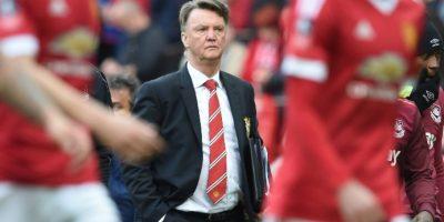 Luis Van Gaal quedó fuera del Manchester United. Foto:AFP