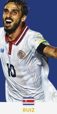 Bryan Ruiz (Costa Rica/Sporting de Lisboa) Foto:ca2016.com