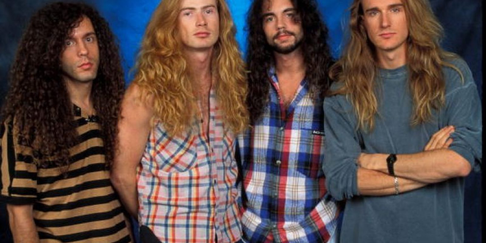 Nick Menza se integró a Megadeth en 1989 Foto:Getty Images