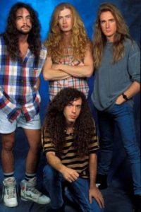 Con Megadeth, Nick Menza grabó cuatro de los más importantes álbums de la banda. Foto:Getty Images