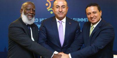 Cancilleres de Guatemala y Belice se reúnen en Turquía