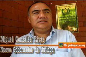 Miguel Esmerio González Rivas, exgobernador de Jutiapa. Foto:Cortesía
