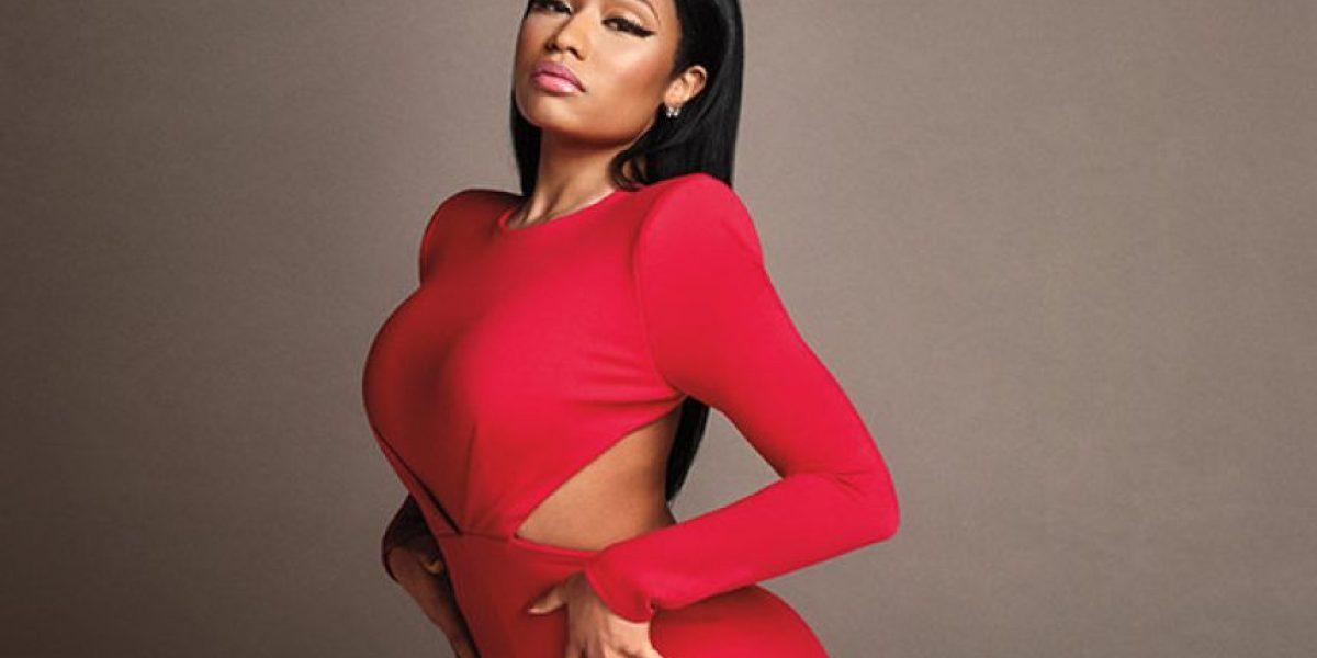 Nicki Minaj acapara la atención en Instagram con su tan llamativo escote