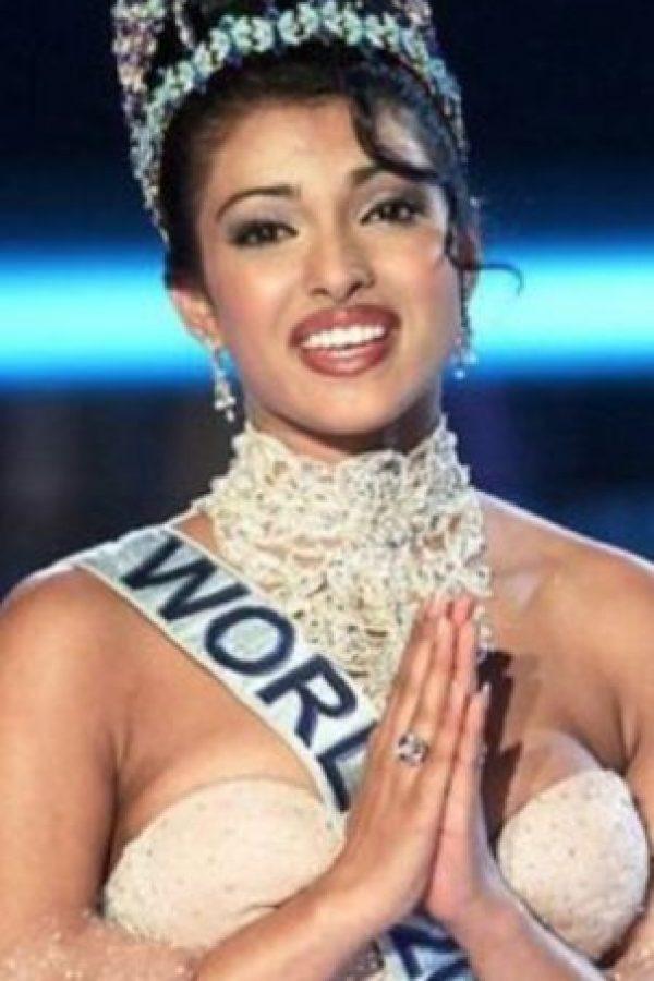 """Priyanka Chopra llegó a ser """"Miss World"""". Foto:vía Getty Images"""