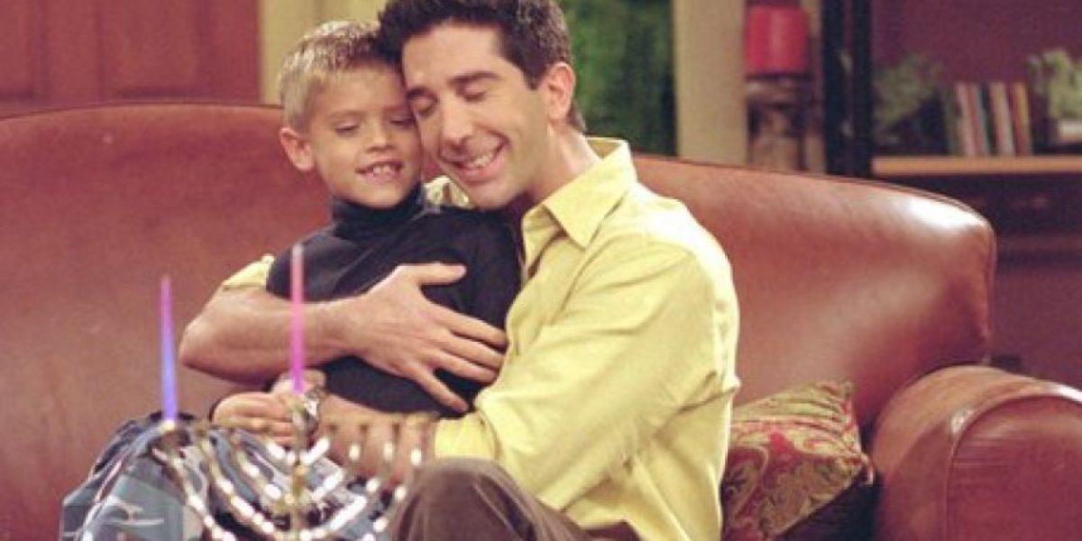 Friends: ¡Mira cómo ha crecido Ben, el hijo de Ross!