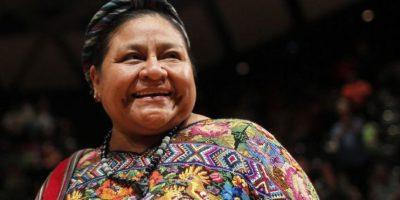 Rigoberta Menchú le responde a actriz mexicana y a su acto de burla