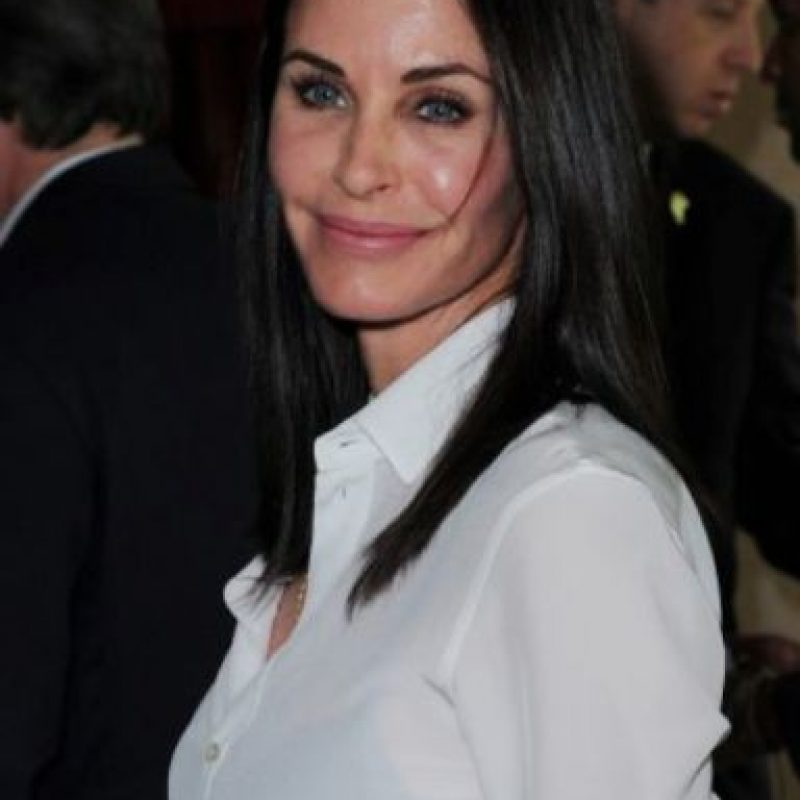 Courteney Cox ya no sabe parar. Foto: vía Getty Images