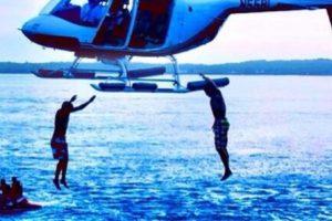 Montarse en helicóptero. Foto:vía Tumblr/richkidsofInstagram