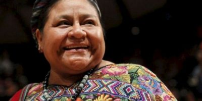 """Rigoberta Menchú responde a actriz mexicana y a su acto de """"burla"""""""