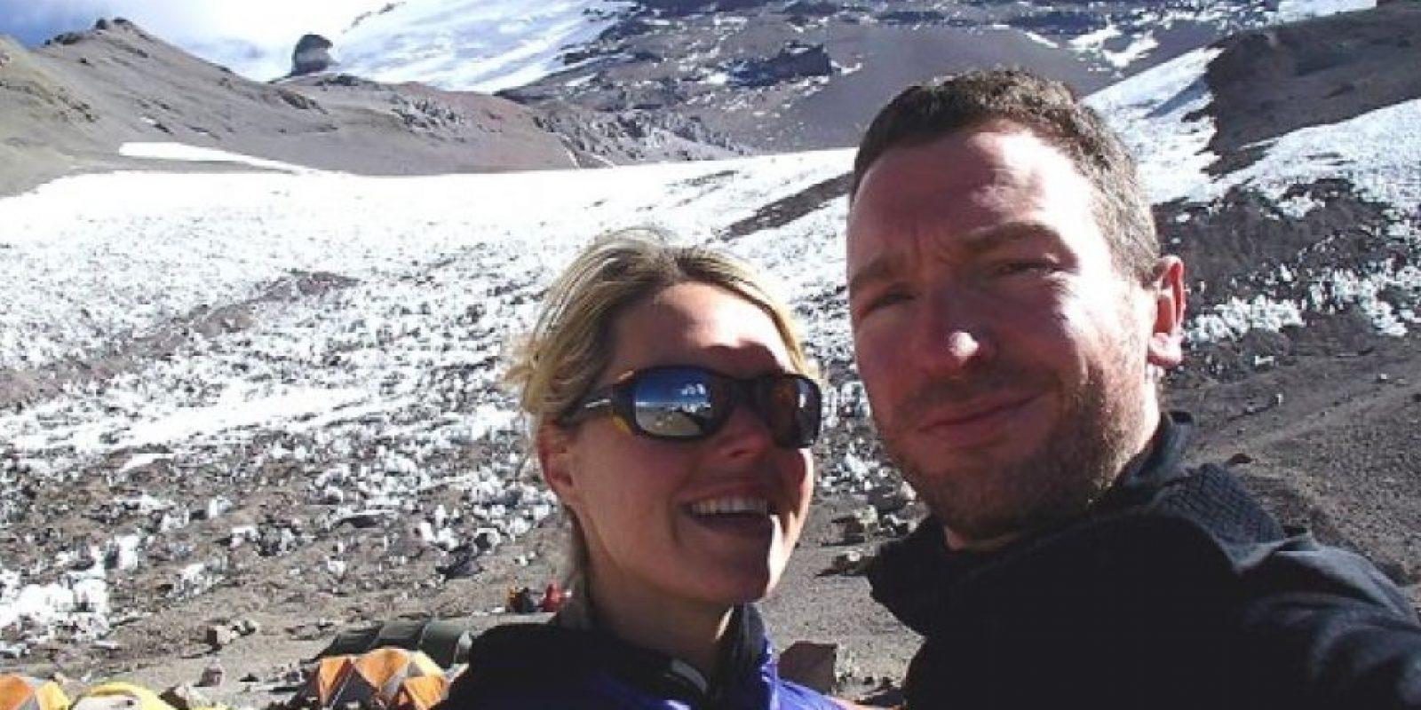 Murió frente a su esposo al llegar al Monte Everest Foto: Facebook/marisa.strydom.10
