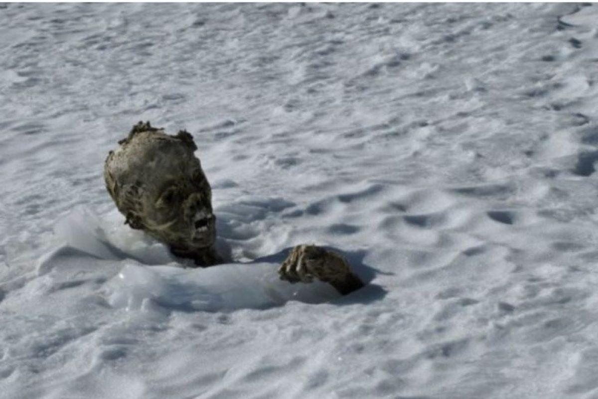En 2015, se encontraron los restos momificados de tres alpinistas en México Foto:AFP