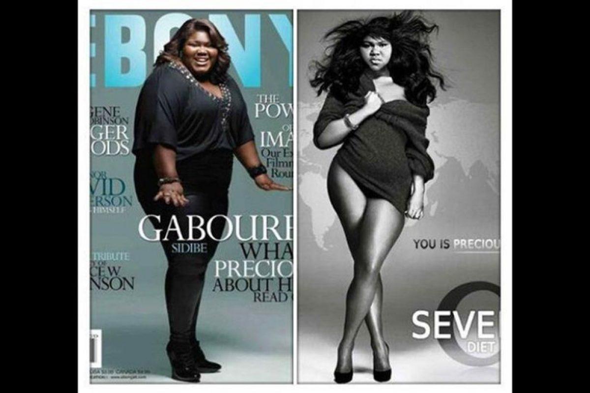Esta fue la foto que se viralizó en las redes sociales sobre su supuesta pérdida de peso. Foto:Reproducción